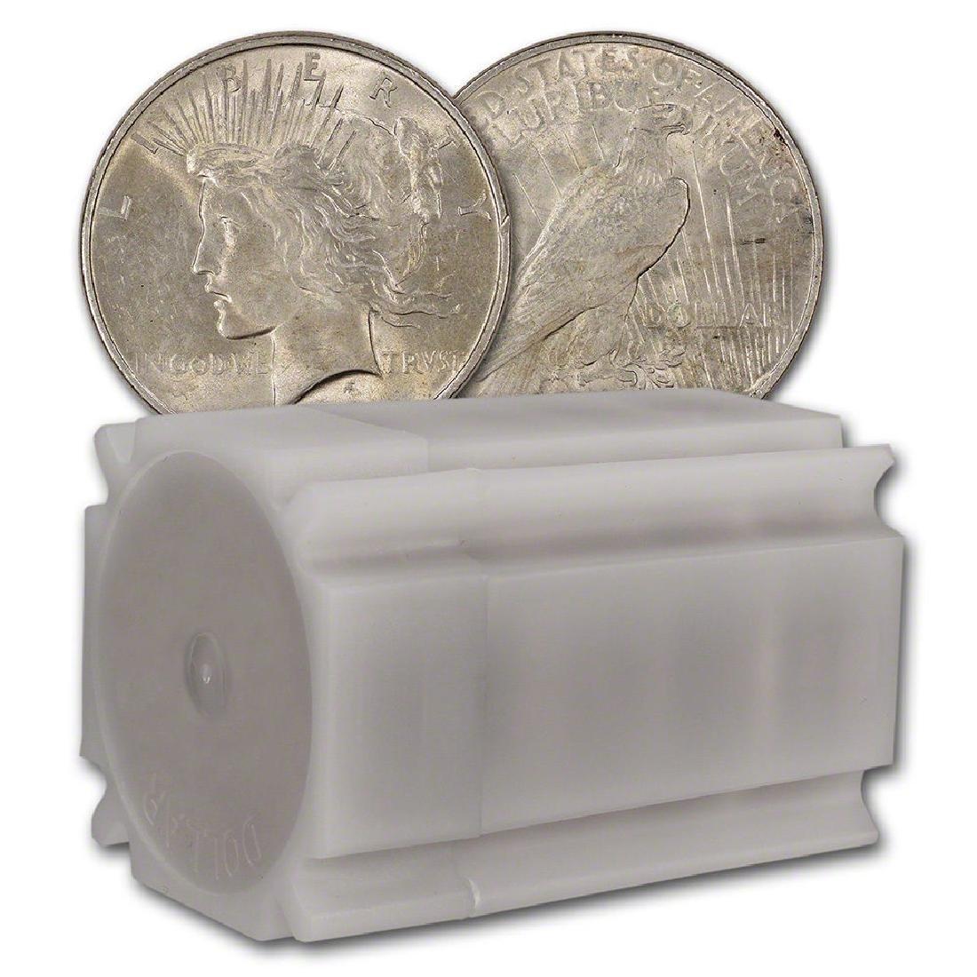 Roll of (20) Nice Higher Grade Peace Dollars