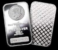 Morgan Design SIlver Bullion Bar 1 oz. Pure (1)
