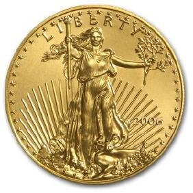 US Mint Gold Eagle- 1 oz. 2009-2010