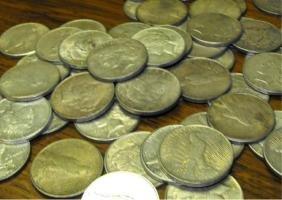 Single Peace Silver Dollar Random Date