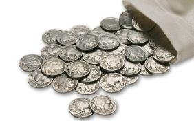 Lot of (20) 1930's Buffalo Nickels-Full Date