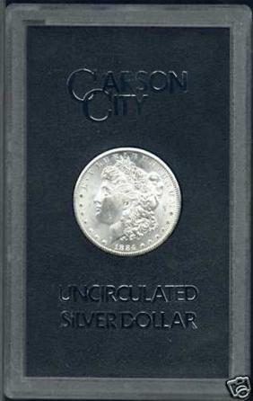 1884 GSA Government Packed Morgan Carson City $1