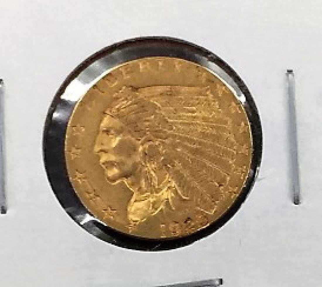 1925 $2.5 Gold Indian