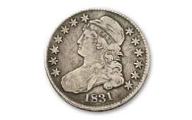 1831 Capped Bust Half Dollar F-VF Grade