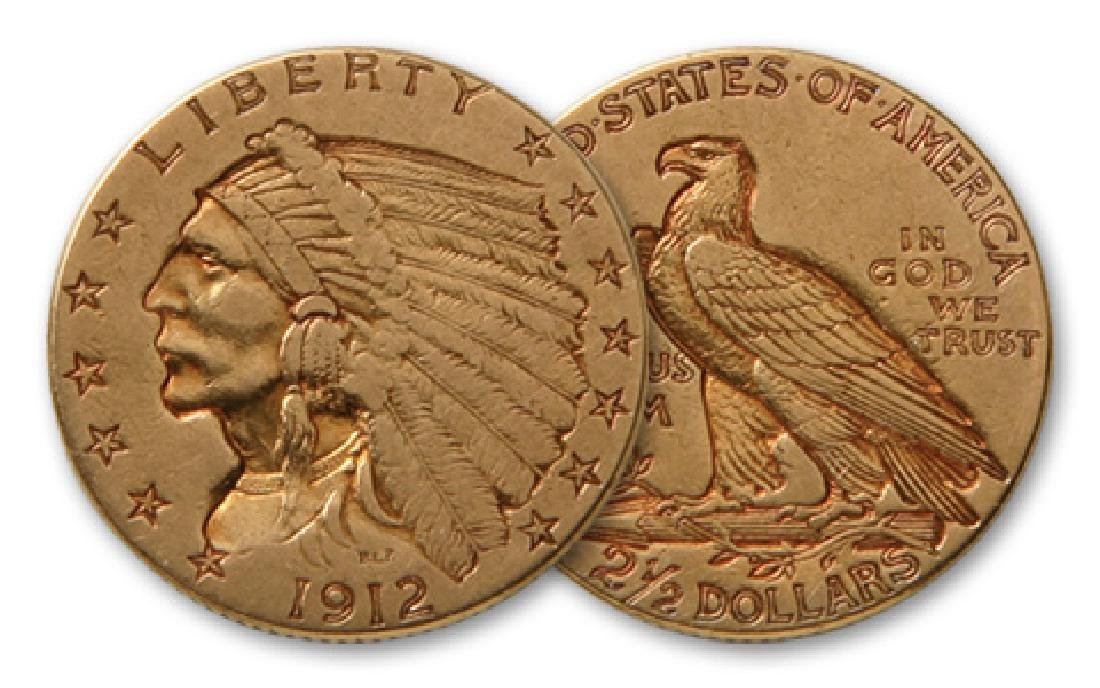 $2.5 Indian US Gold Coin- Random Date