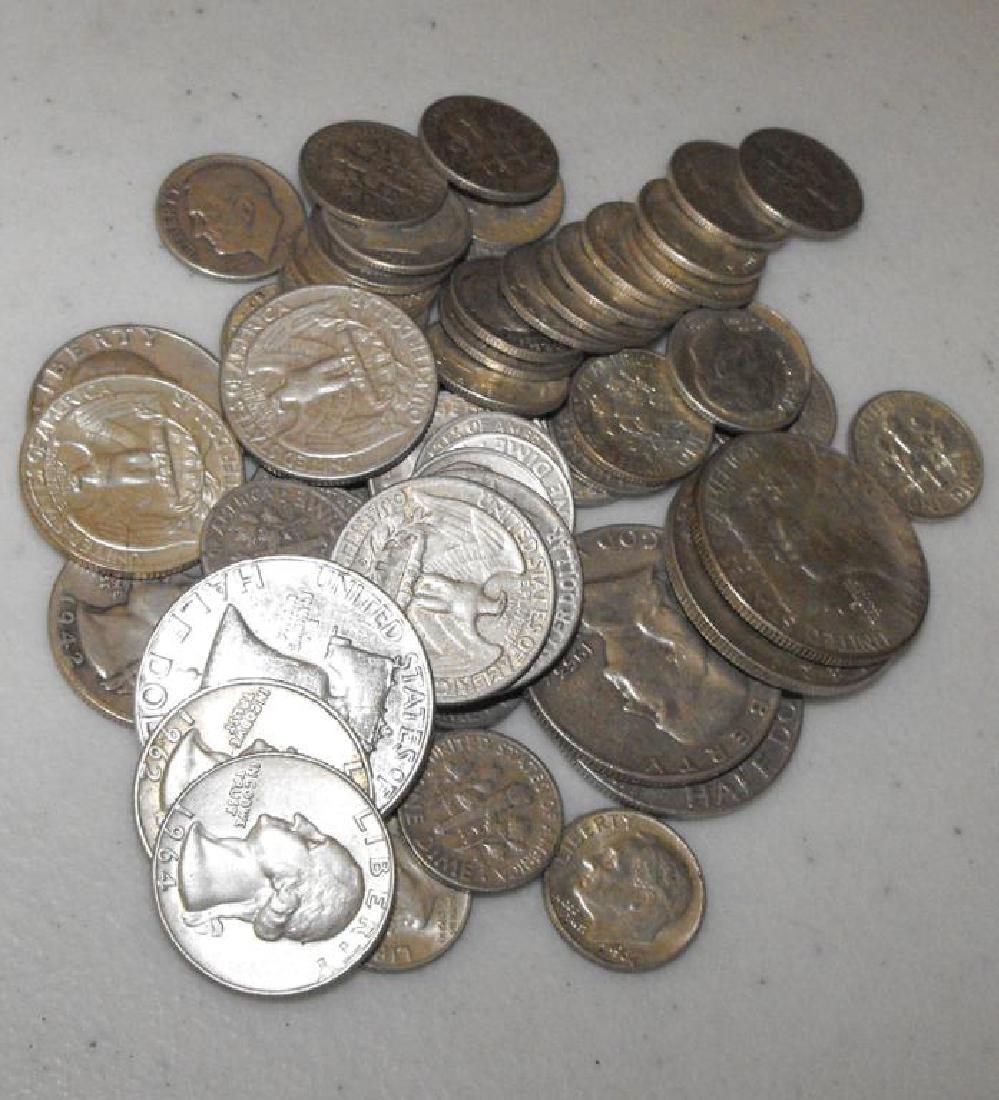 $ 5 Face Value 90% Silver Coins - Mix
