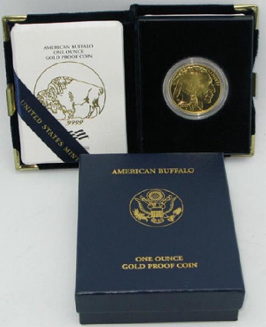 2009 Gold Buffalo Proof in Mint Case 24K
