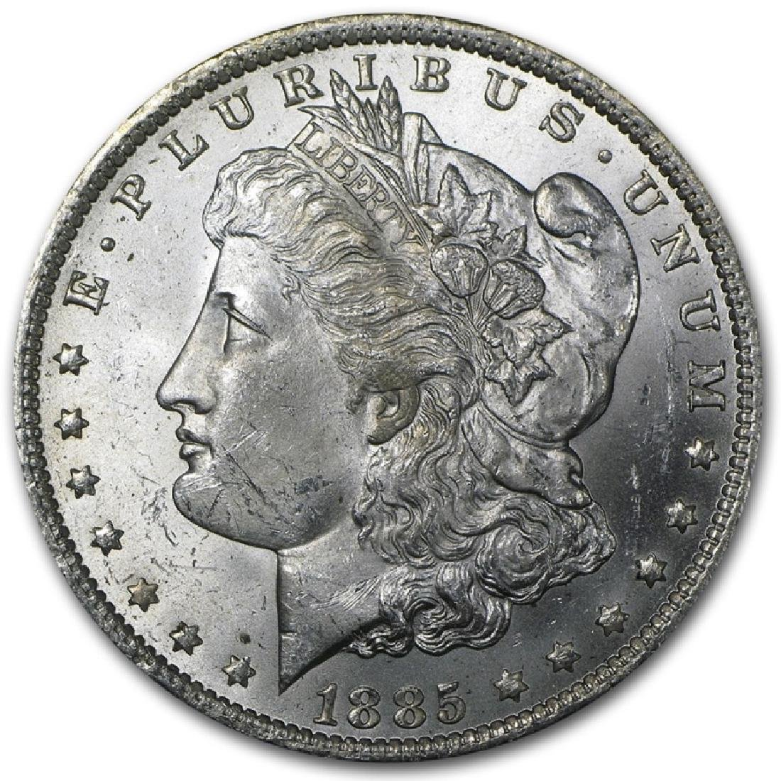 1885 O BU Morgan Silver Dollar