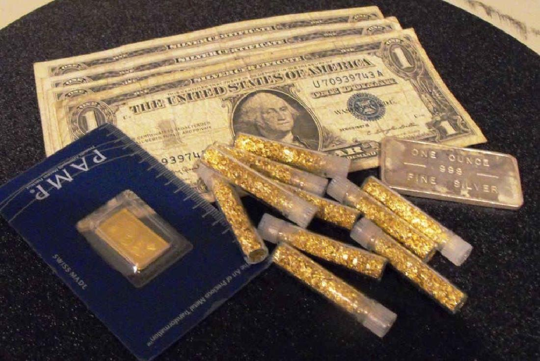 Investors Lot - Silver Gold - Assay Carded-2.5gram