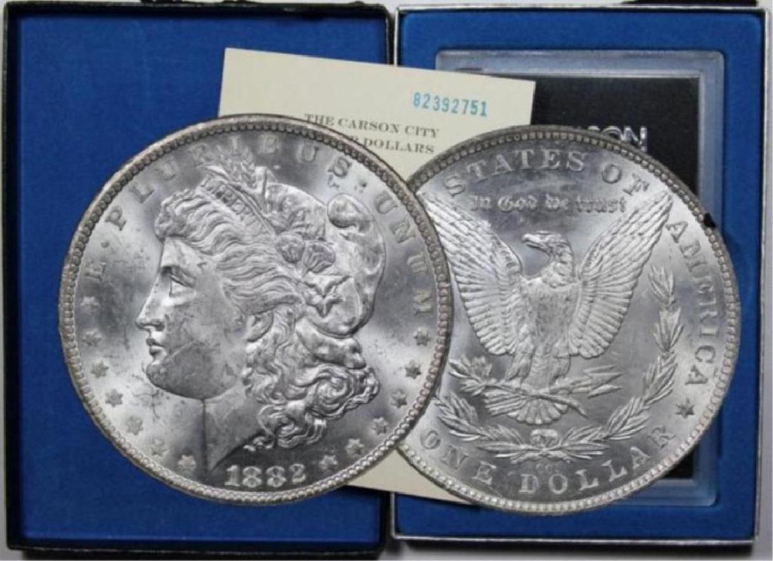1882 CC GSA Morgan Silver Dollar Key Date