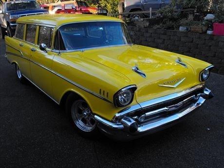 1957 Hot Rod Chevy 210 Station Wagon