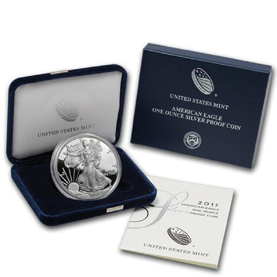 2011 US Silver Eagle Proof in Mint Case