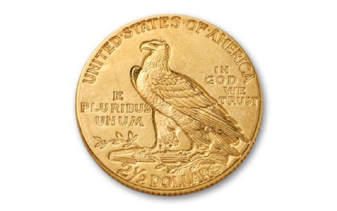 1913 $2.5 Gold Indian Quarter Eagle - 2