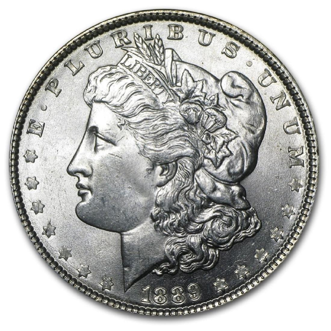 1889 P BU Morgan Silver Dollar