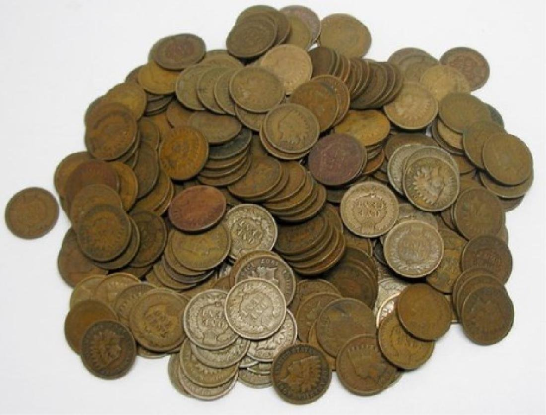 (100) Better grade Indian Head Cents