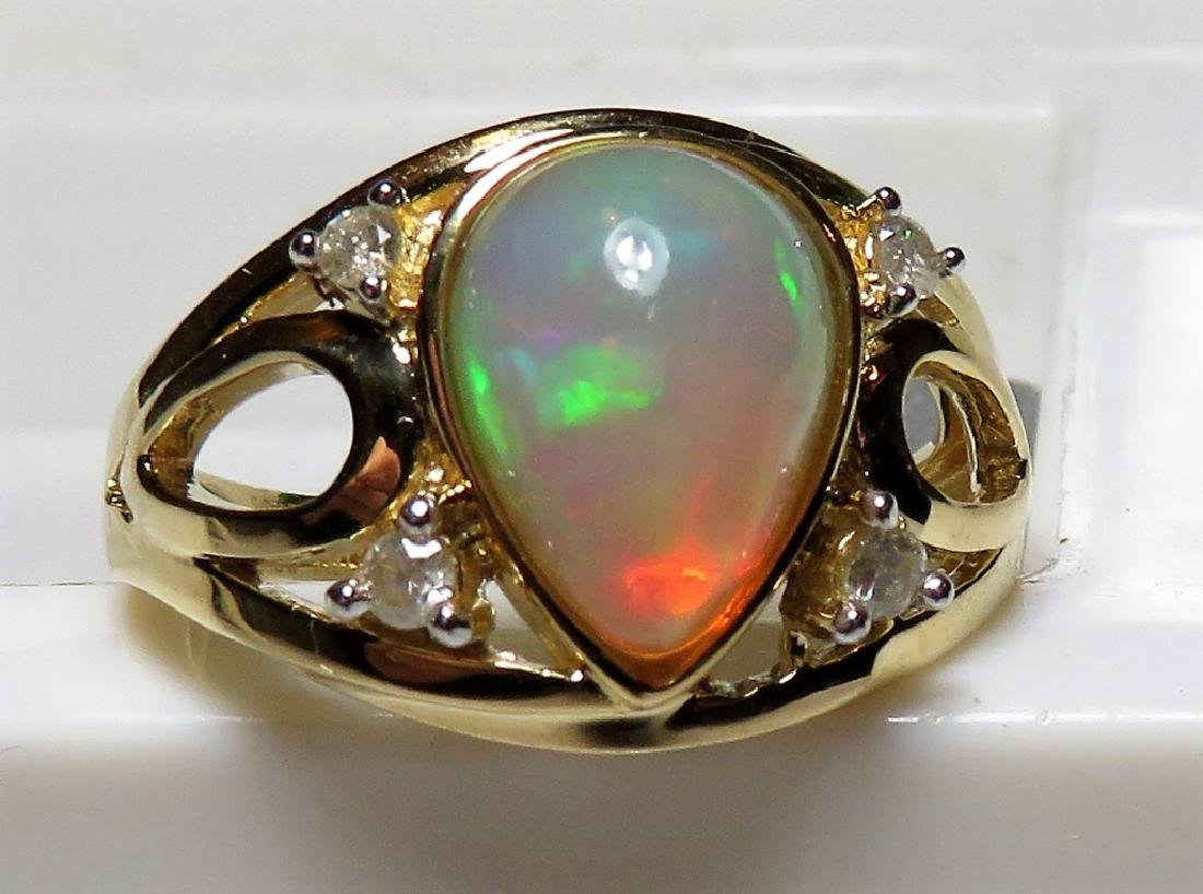 1.95 ct. VERY FINE Opal Ring - $2973