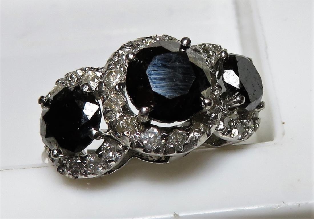 $6775 Black Diamond Ring