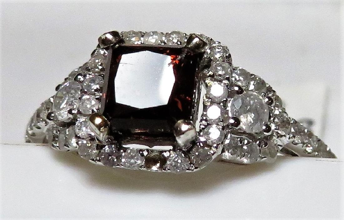 1.13 ct. Fancy Brown Diamond Ring $7400