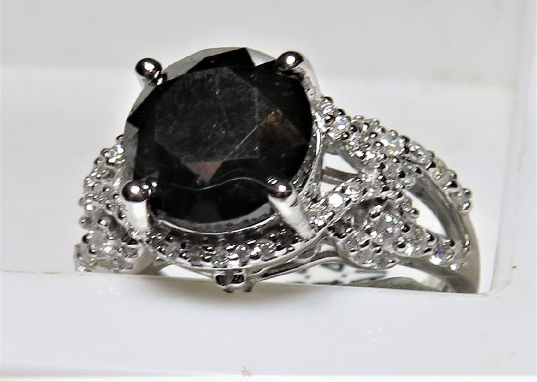 $6790 Black Diamond Ring
