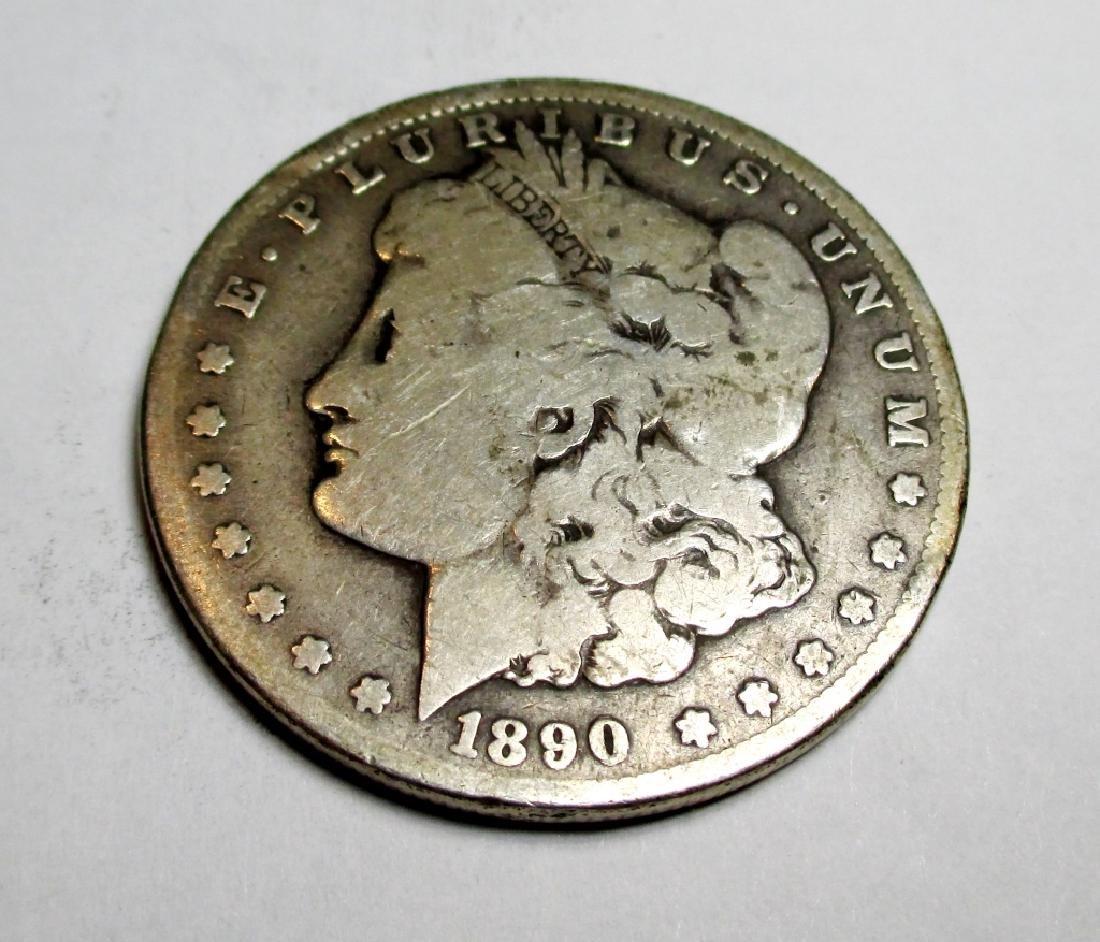 1890 CC Key Date Morgan Silver Dollar