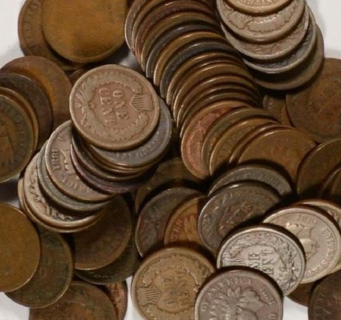 (100) Indian Head Cents from Image - 2