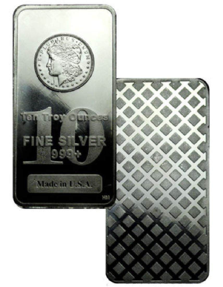 Morgan Design 10 oz Silver Bar