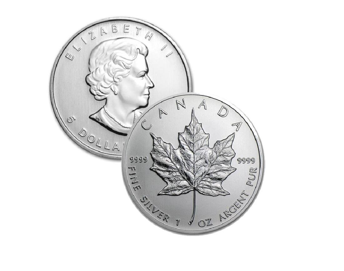 1 oz. Random Date Canadian Silver Maple Leaf