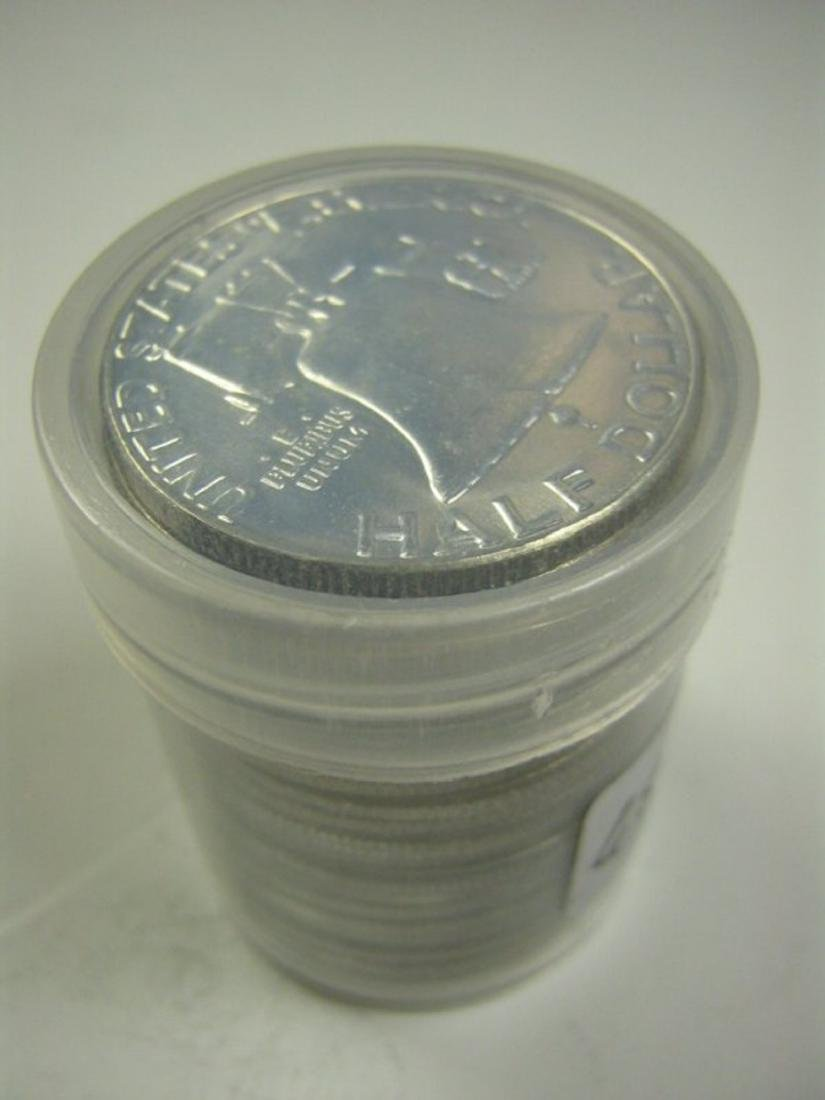 20pc. Roll of High Grade Franklin Half Dollars 90%