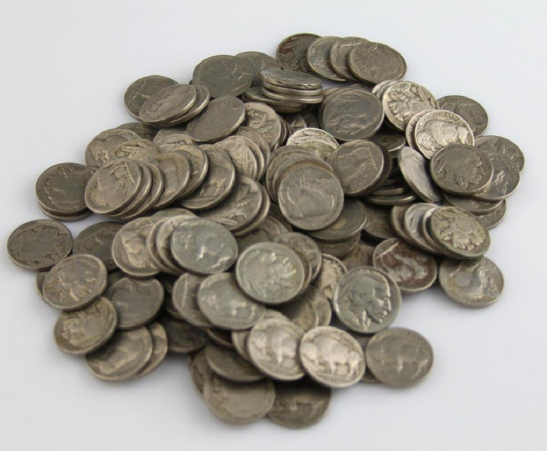 75 pc. Collection of RD Buffalo Nickels