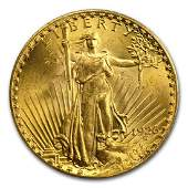 1926 AU/BU Grade $20 Gold Saint Gaudens