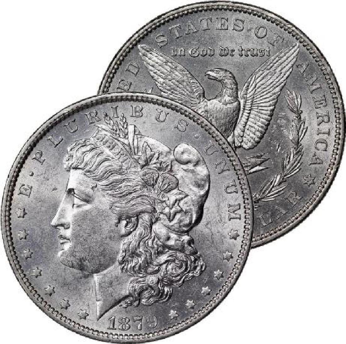 1879 P BU Morgan Silver Dollar