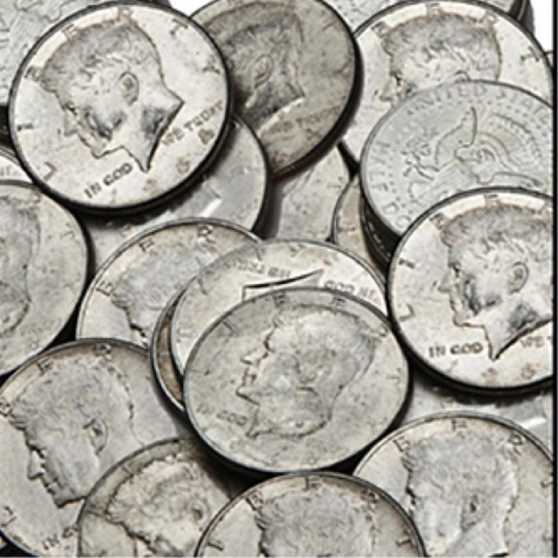 (40) $20 Face Value 90% Silver Kennedy Halves