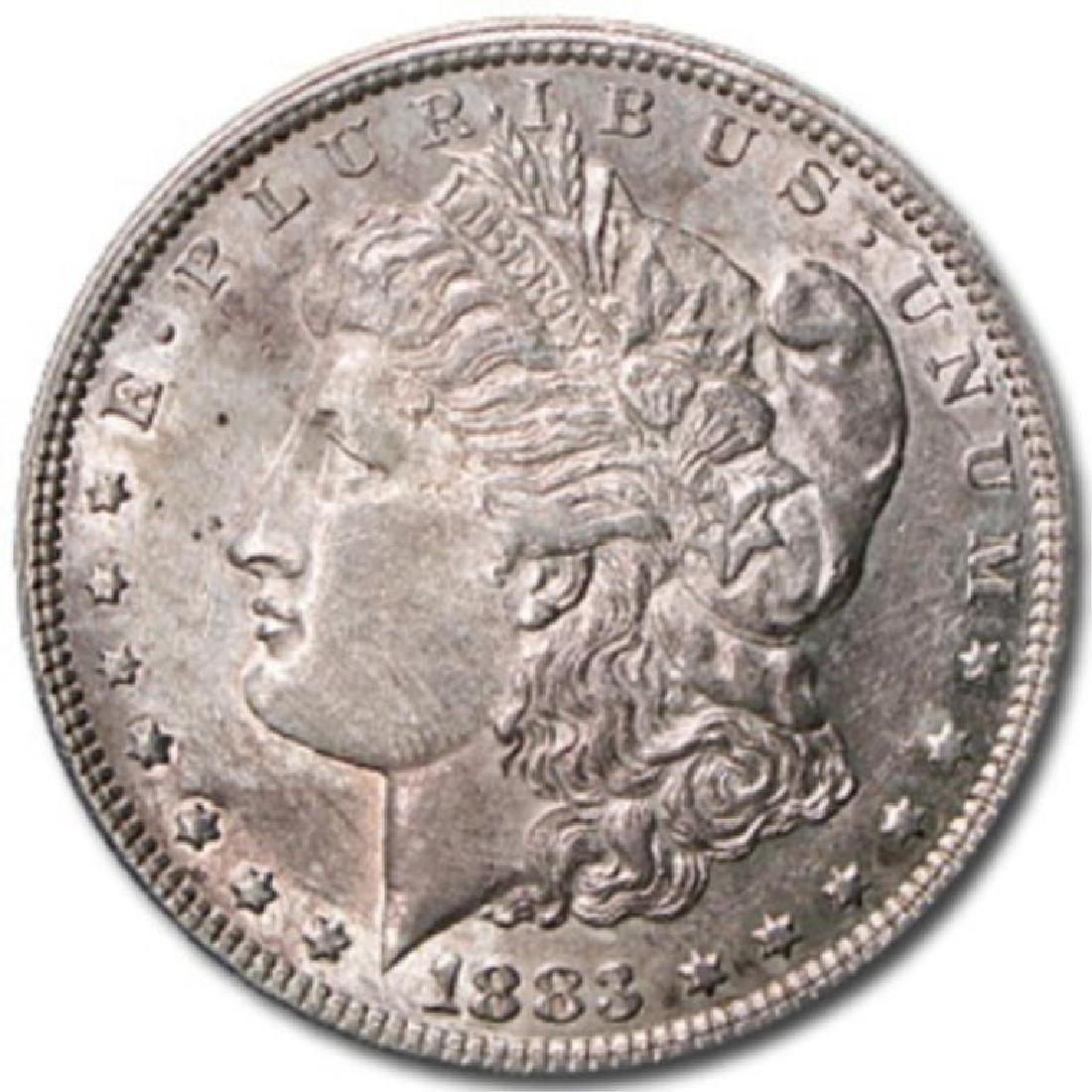 1883 P BU Morgan Dollar