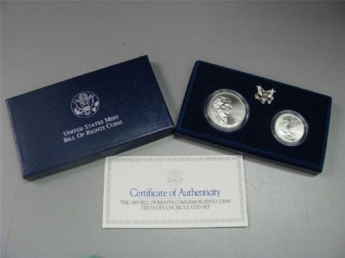 1993  Bill Of Rights 2 Coin Set