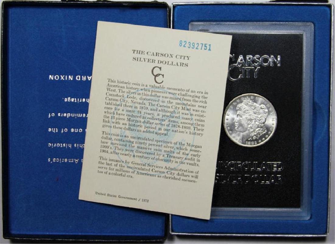 1882 CC GSA Morgan Dollar