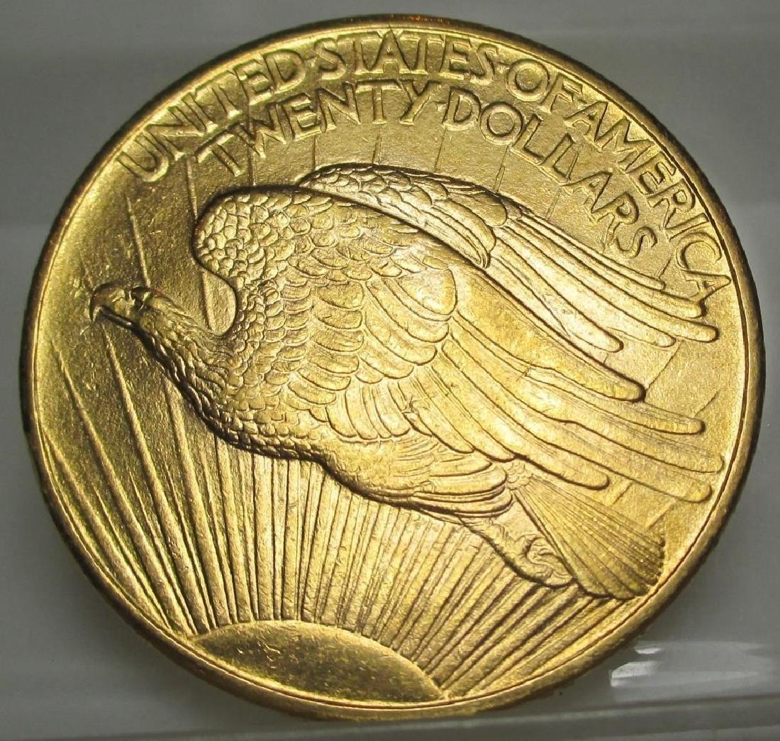1928 $20 Gold Saint Gaudens Double Eagle - 2