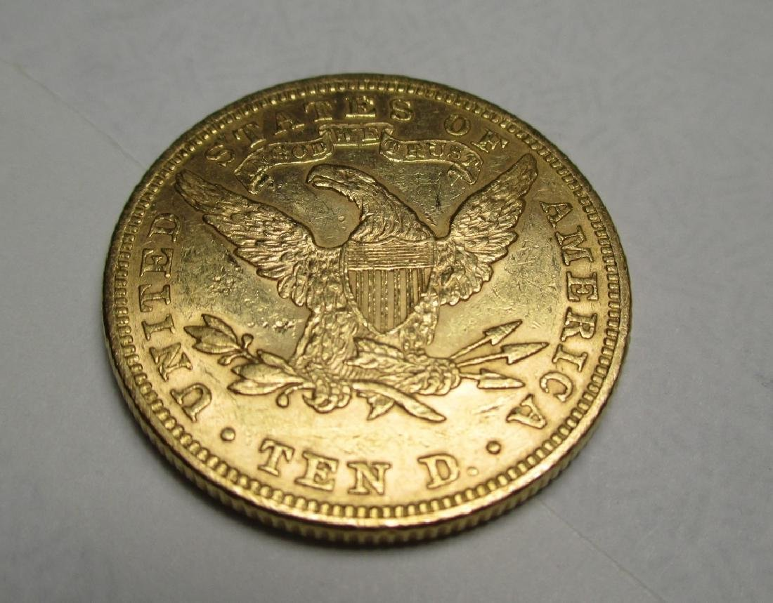 1881 $10 Gold Liberty Eagle - 2