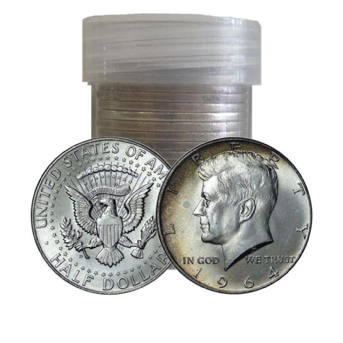 Roll of (20) 1964 Kennedy Half Dollars