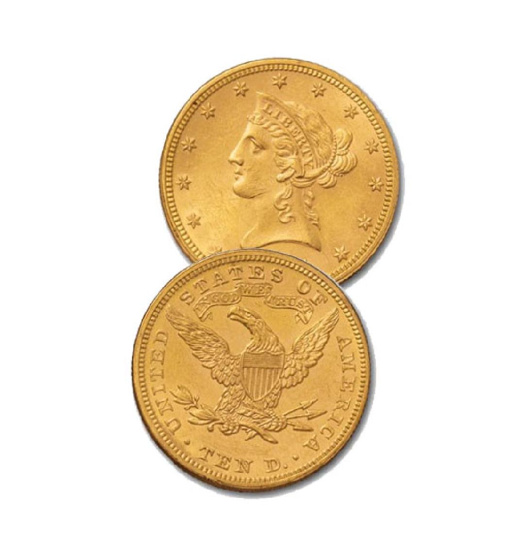 Random Date AU Grade $10 Gold Liberty