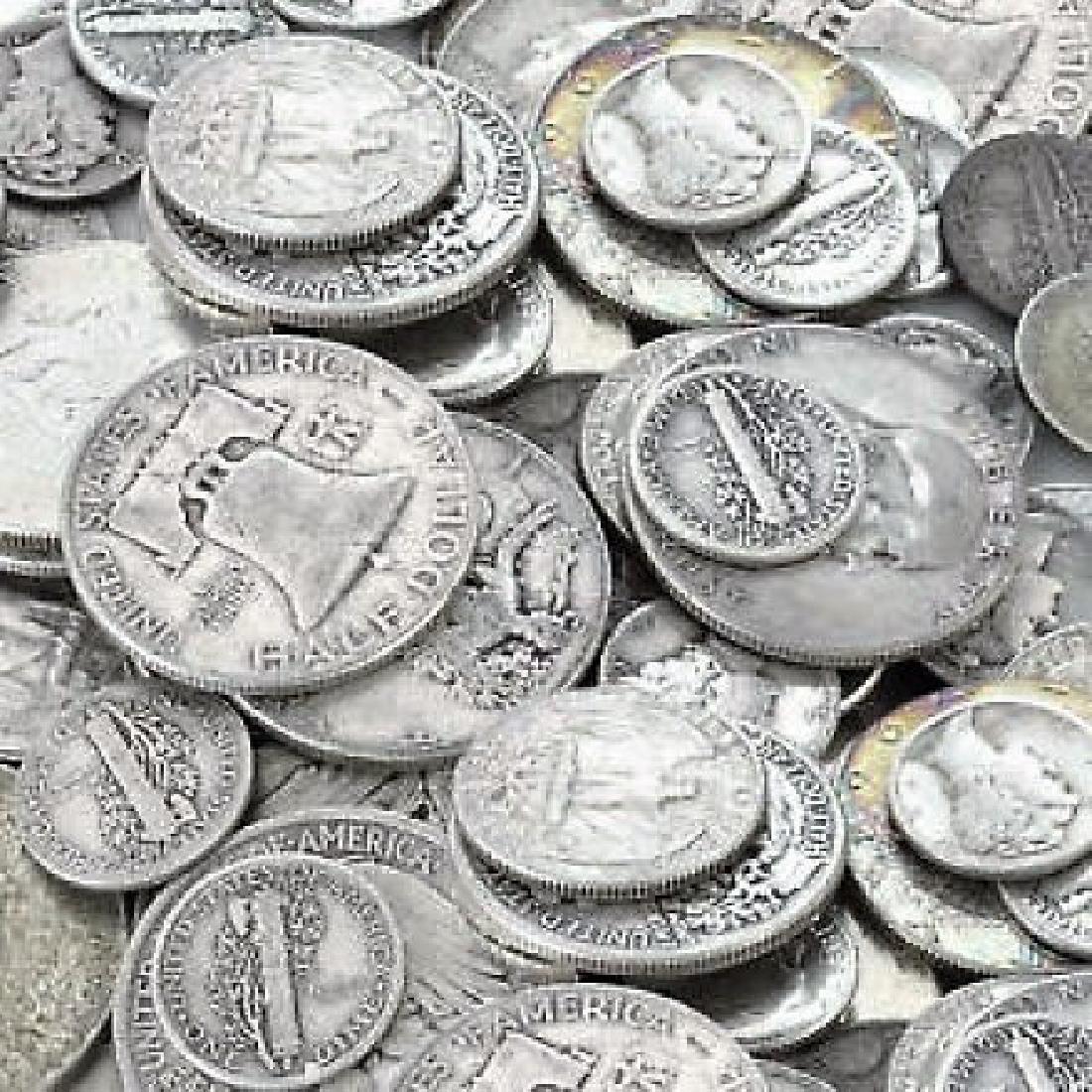 $10 Face Value 90% Silver Random Mix - 2