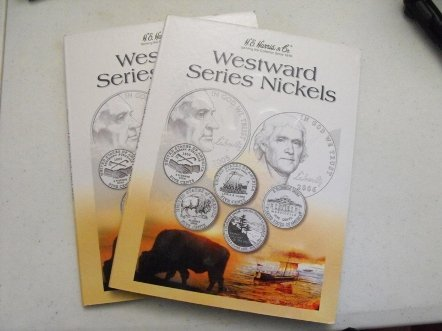0009: 2 Sets Westward Collection Nickels