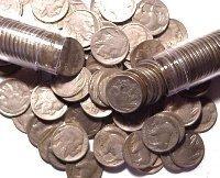 1: Nice Circulated Buffalo Nickel Roll