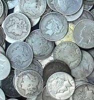 5: Lot of 10 Morgan Silver Dollars