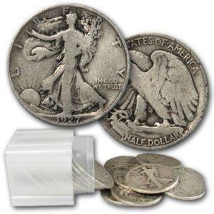 11: Lot of 20 Walking Liberty Half Dollars