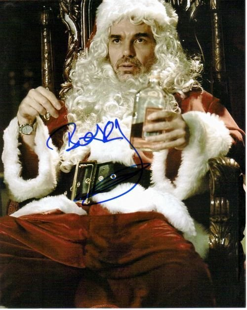 1A: Billy Bob Thornton autograph