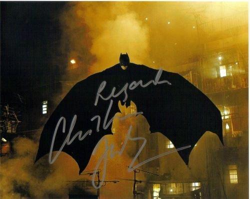 5A: Christian Bale autograph