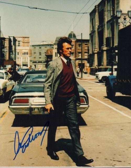 7A: Clint Eastwood autograph