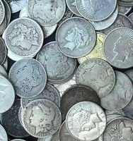 4: Lot of 10 Morgan Silver Dollars