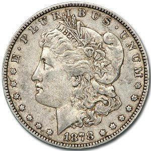 164: 1878 7 Tailfeathers (Rev. of 78) Morgan Dollar