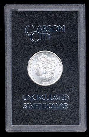 4P: 1882 GSA CC Morgan Silver Dollar